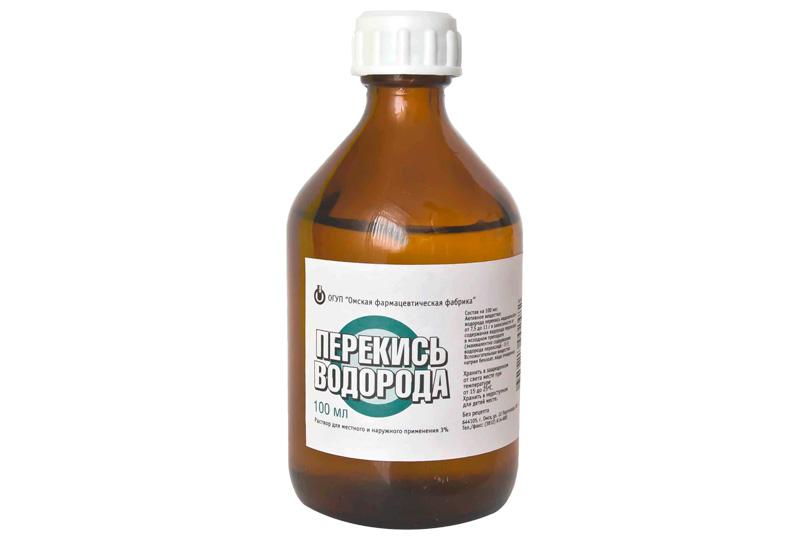 отравление перекисью водорода симптомы